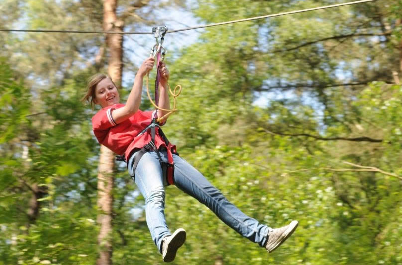DLR tourism things to do: zip lining