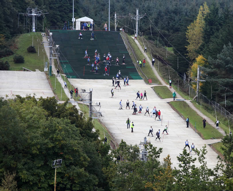 DLR tourism things to do: ski slope