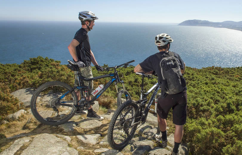 DLR tourism things to do: mountain biking