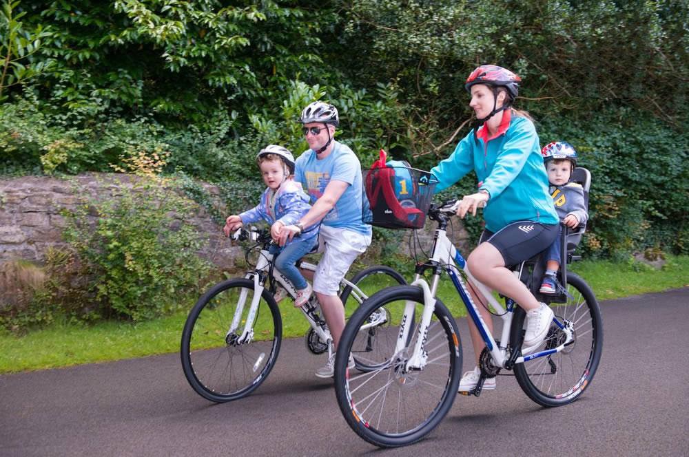 getting around dlr - bike cycling
