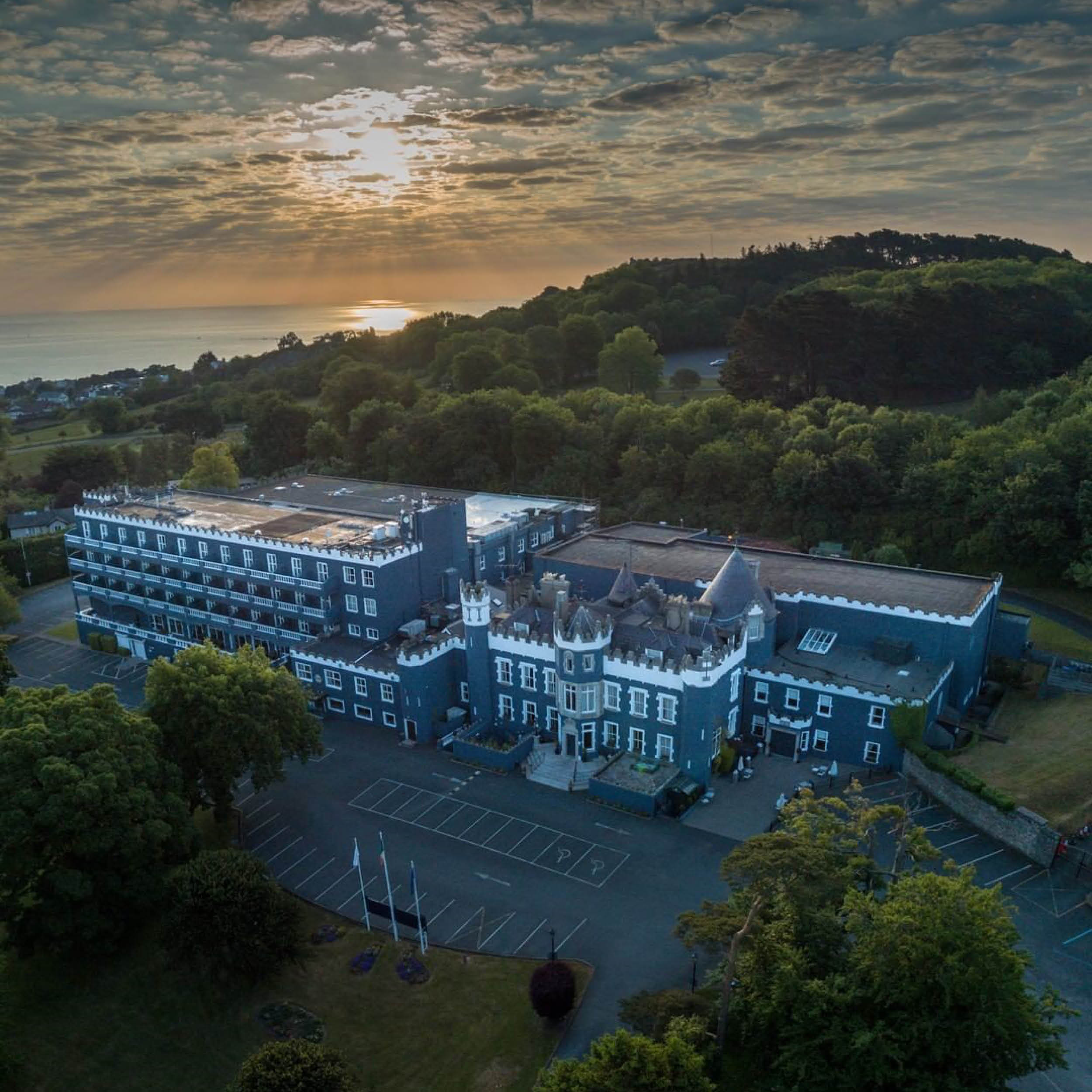 DLR places to stay fitzpatrick castle hotel