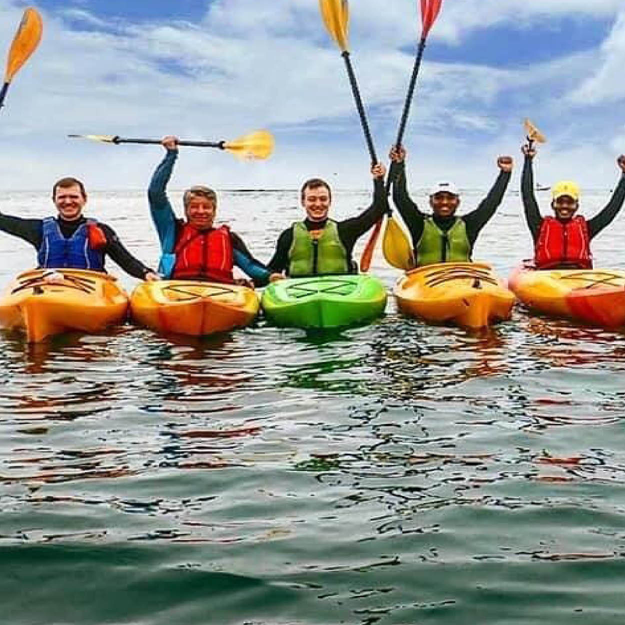 DLR things to do dalkey kayaking