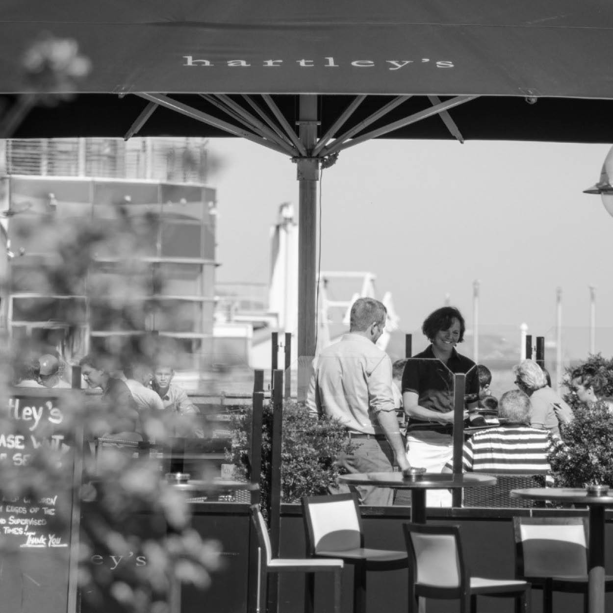 DLR tourism eateries hartleys restaurant