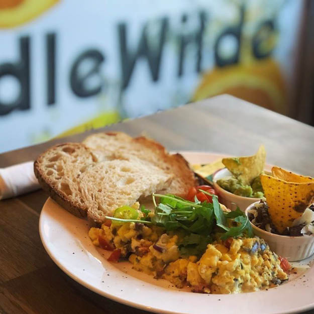DLR eateries idle wilde