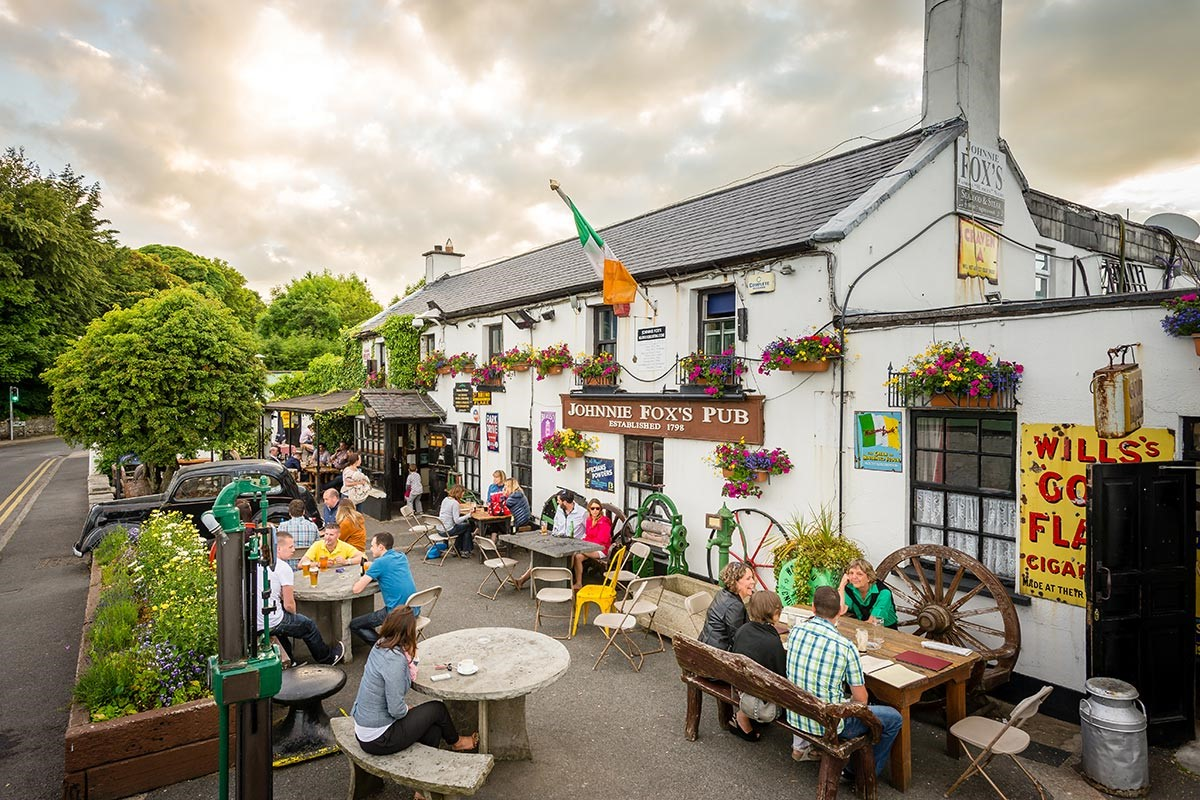 Johnny foxes glencullen: Dlr Tourism