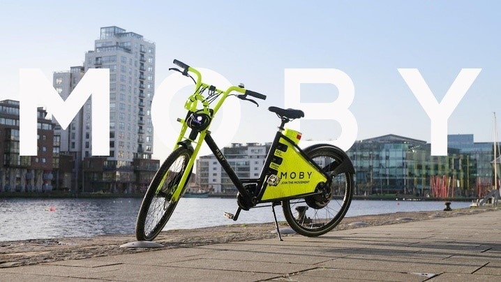 DLR Tourism: getting around. Moby Bikes