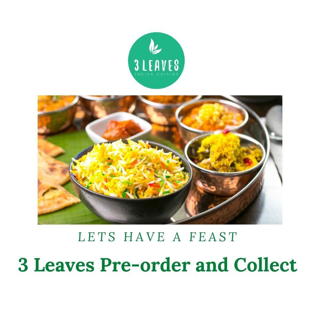 DLR Tourism eateries: 3 Leaves Indian, Blackrock