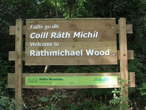 Rathmichael Woods walling trail DLR Tourism