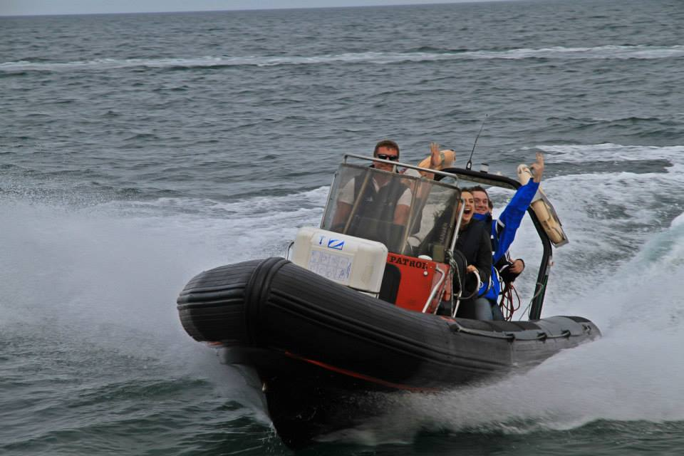 Go sailing power boat in Dun Laoghaire