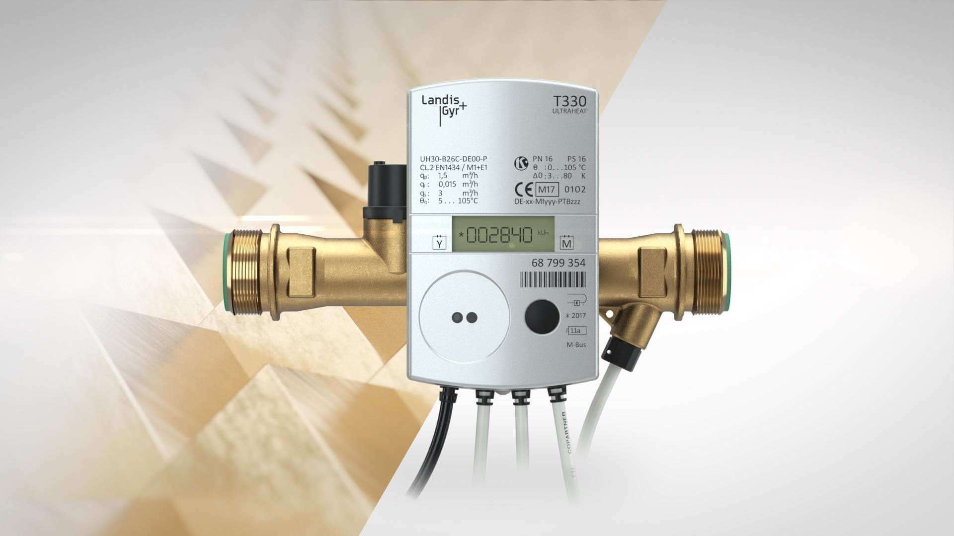 Landis+Gyr Ultraheat T330 Produktfilm