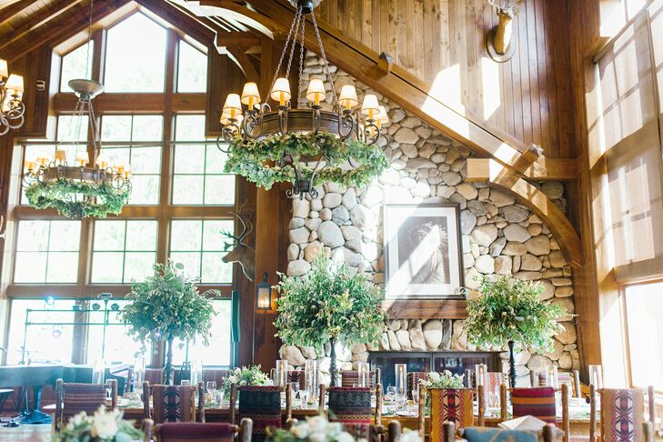 Rustic Reception at Saddleridge at Beaver Creek