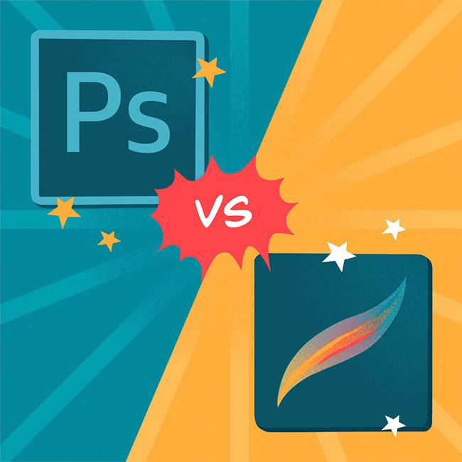 Photoshop vs Procreate - Artist's Review