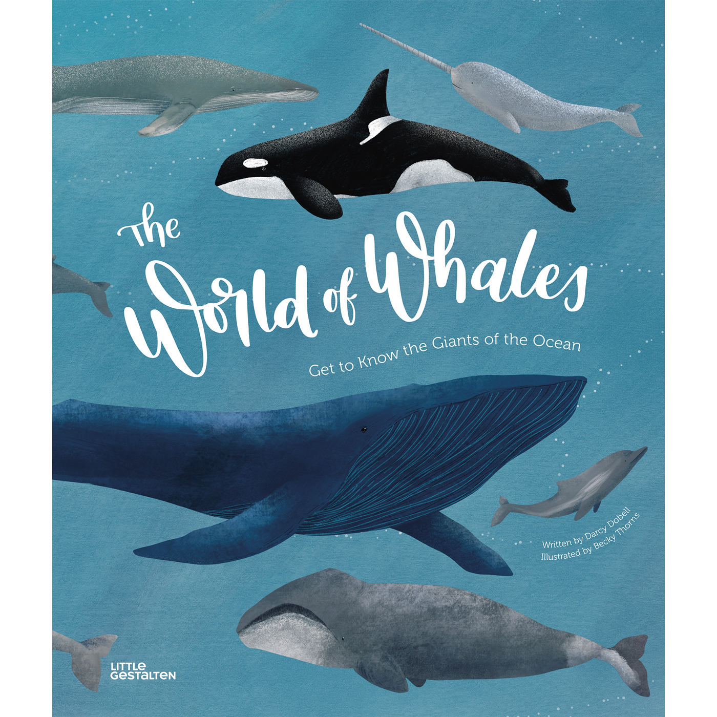 Whale enthusiast Becky Thorns talks to us about her proudest project, 'world of whales' and how she started out her freelancing career through his dream of illustration.