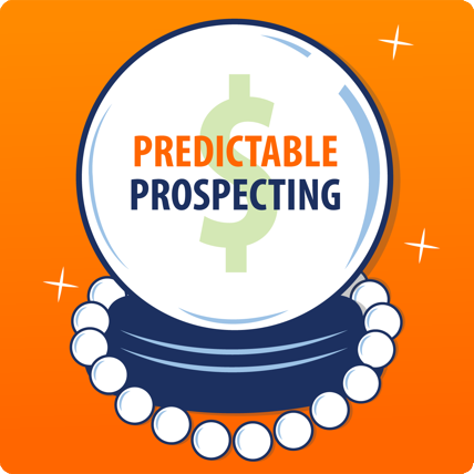 Predictable Prospecting Podcast Album Cover Art