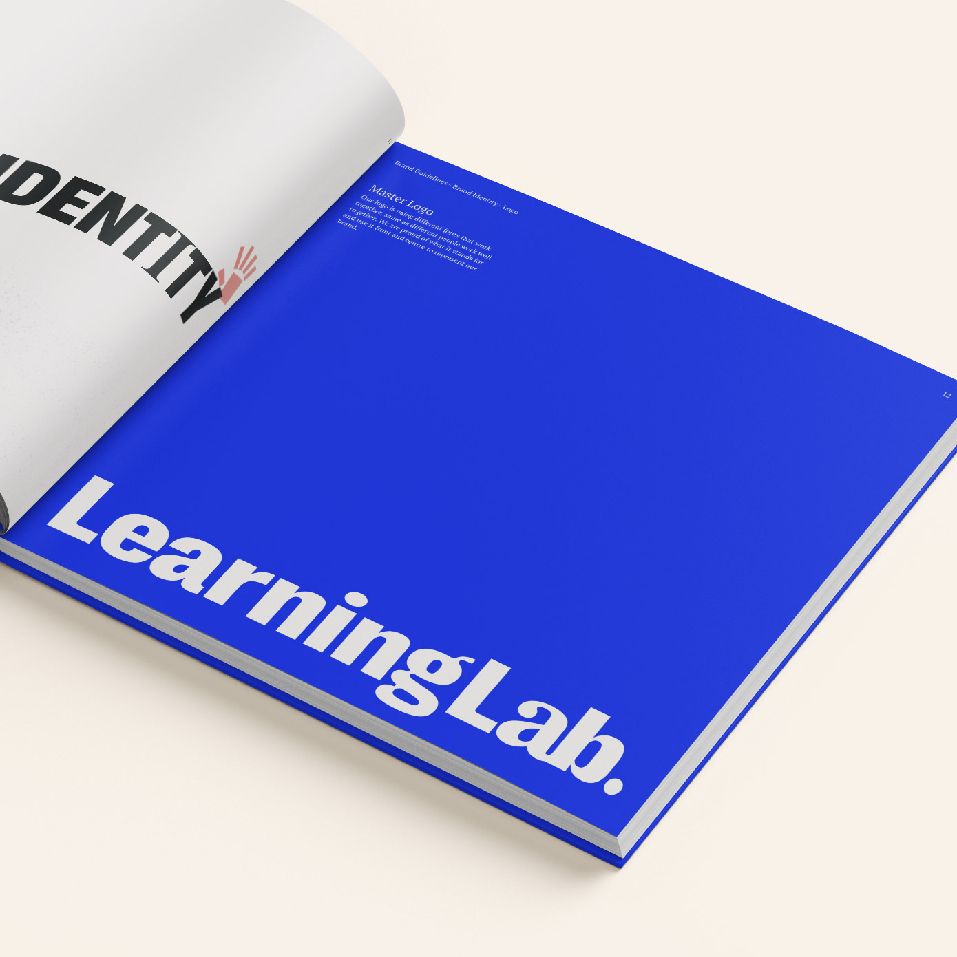 Print design for Learning Lab