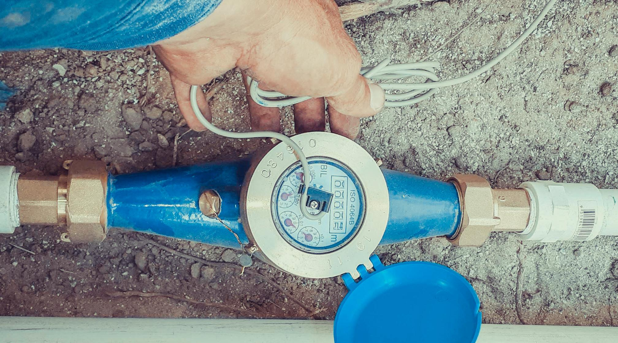 Water bore meter information for irrigation use in Perth.