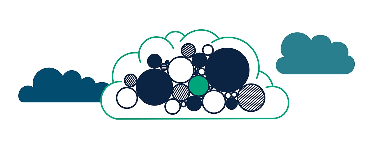 Cloud-computing illustration
