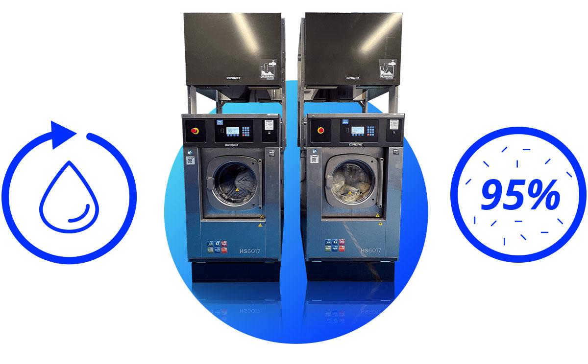 Oxwash washing machines and graphics
