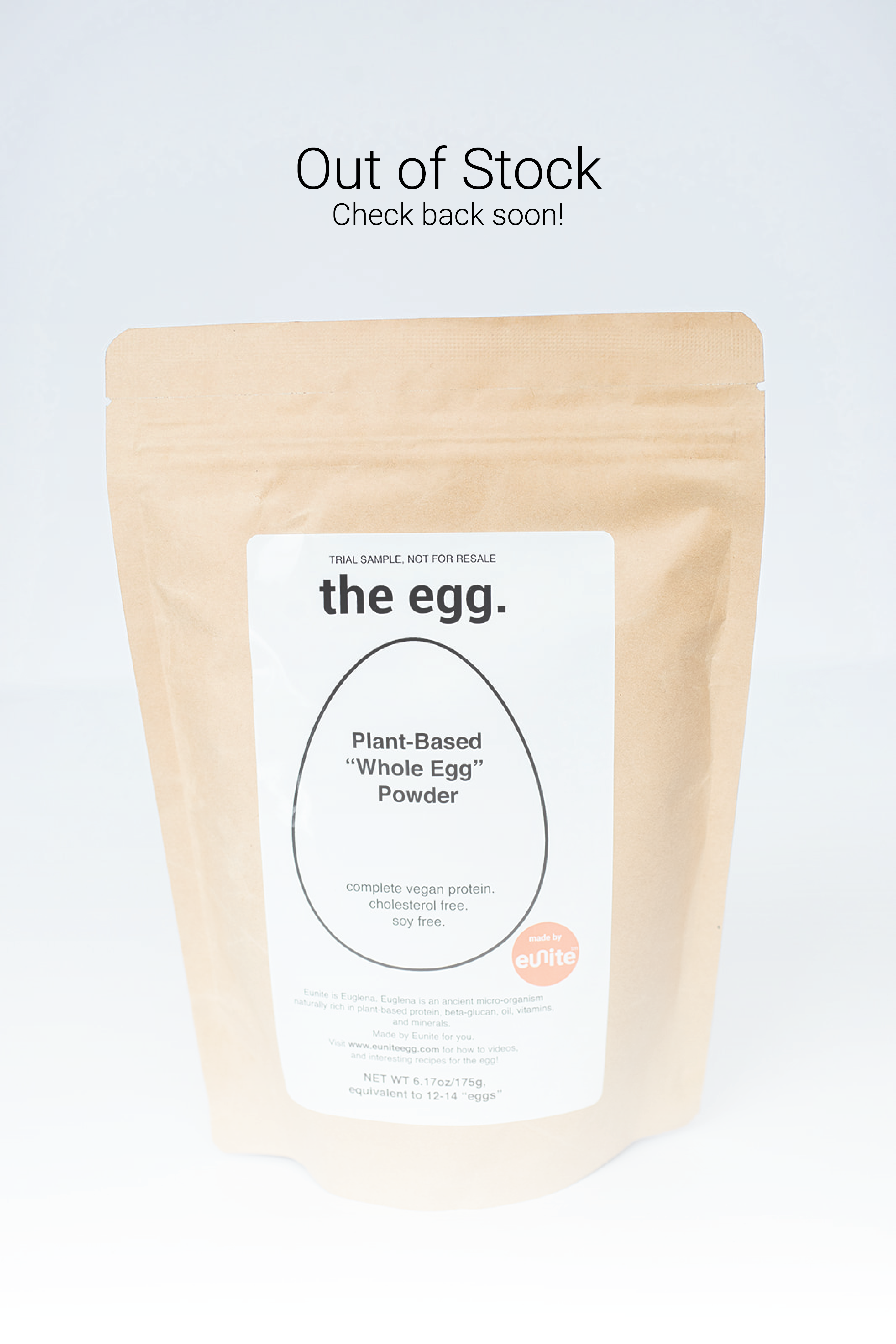 the egg pouch size