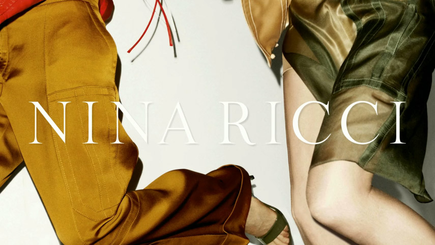 Vidéos en magasin, pour la marque de luxe Nina Ricci.
