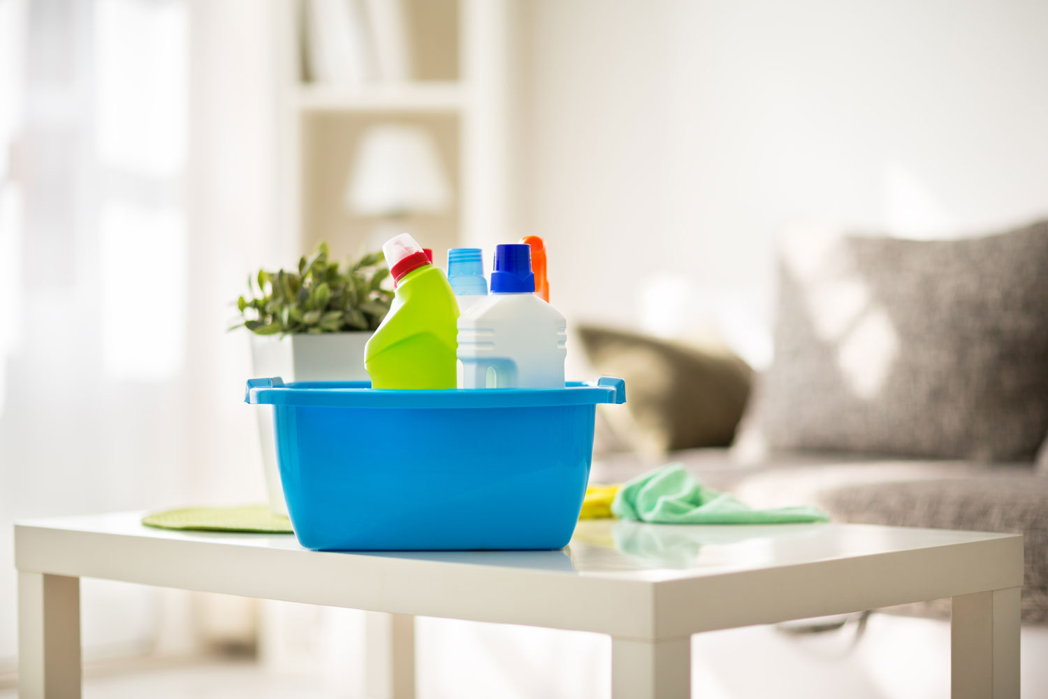 How to clean your house in an environmentally-friendly way