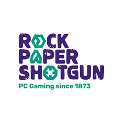 Logo for Rock, Paper, Shotgun