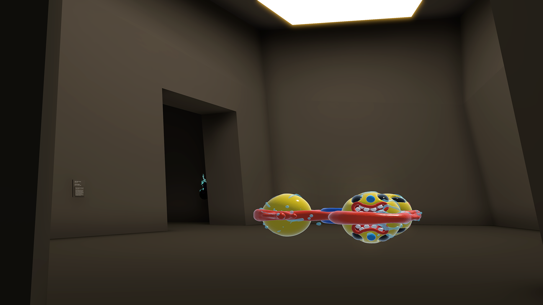 An exhibit featuring  Infinite Fidget  (2019) by John Orion Young in Oculus Medium