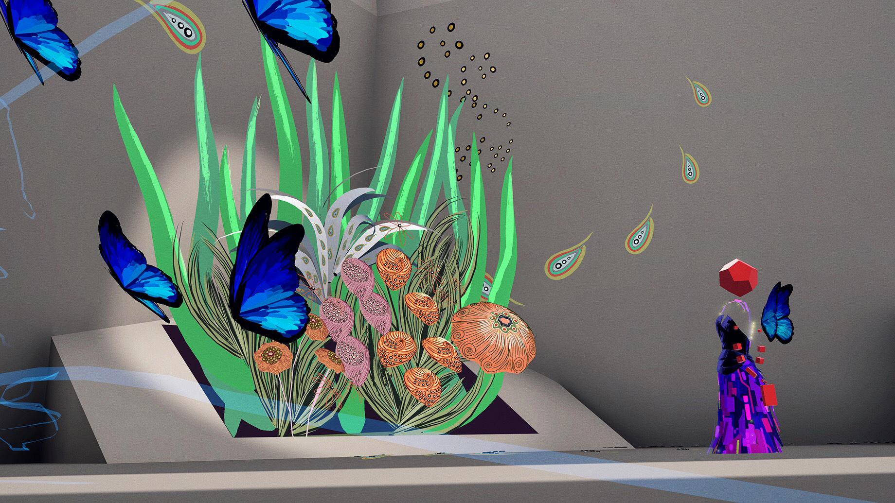 Lignes de Fleurs  ( 2019)   by Sabby Lighf