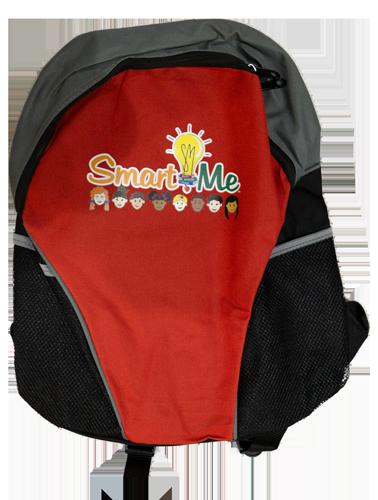 Smart Me Red Back Pack