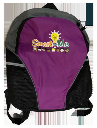 Smart Me Purple Back Pack
