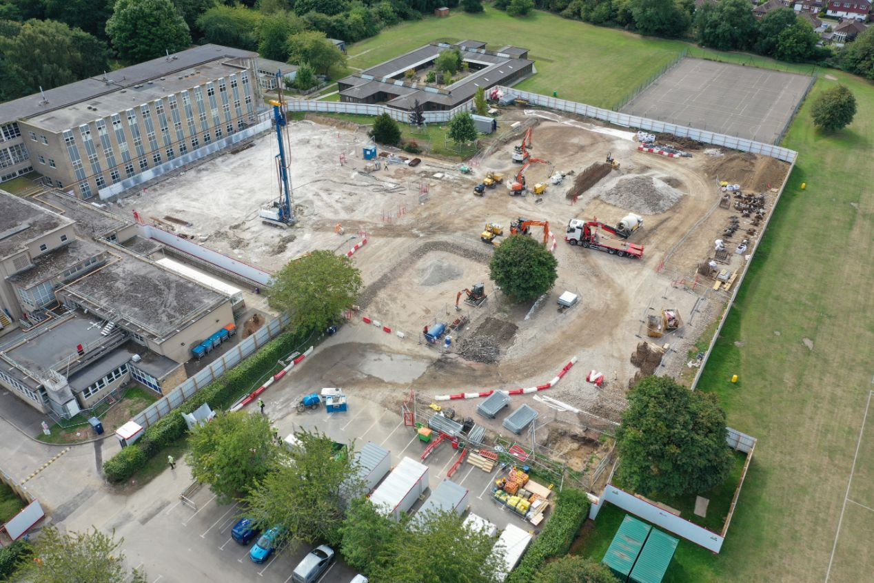 See the progress being made at the Kier project, Simon Langton Girls' Grammar School