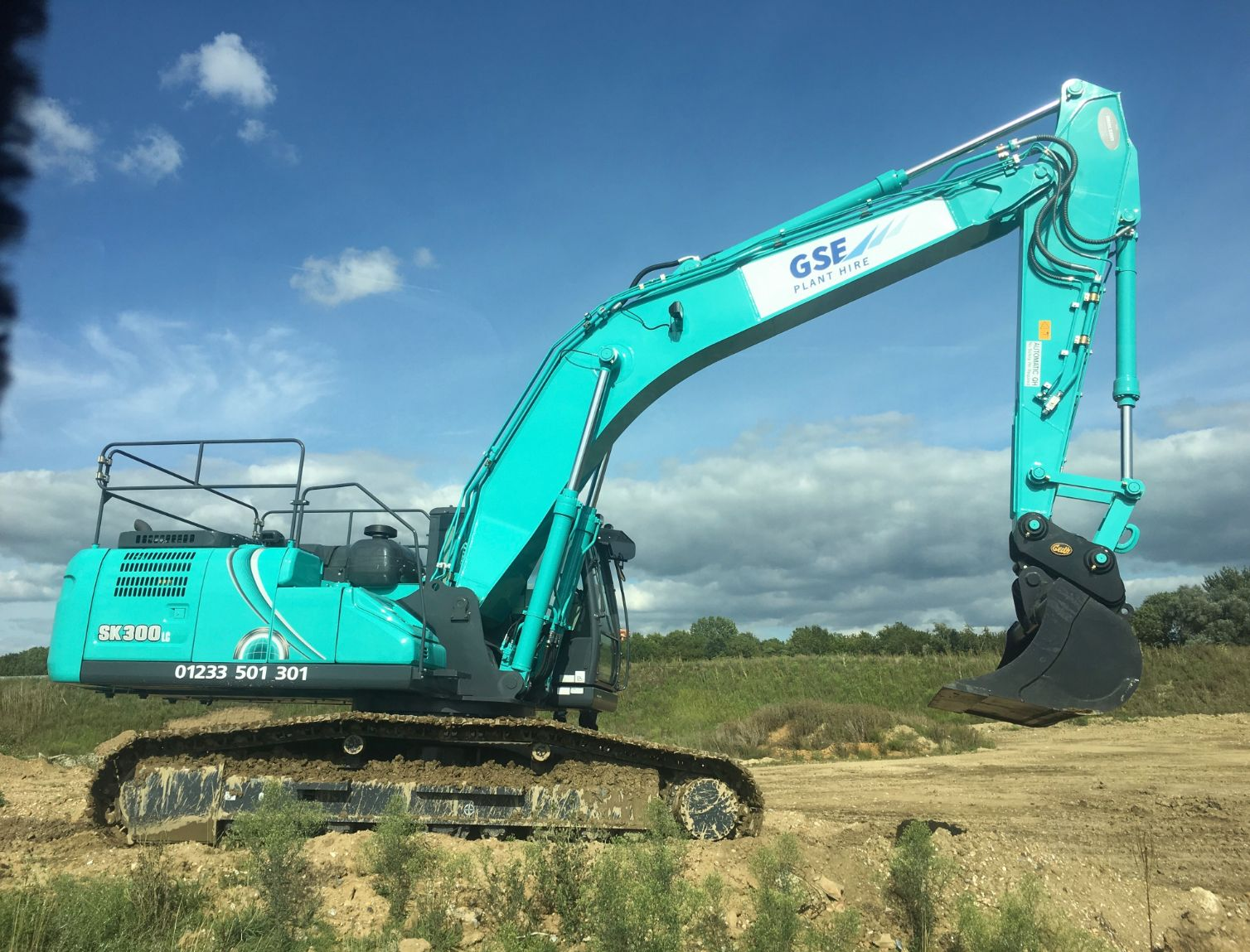 Find out more about our largest excavator, the 30T Kobelco