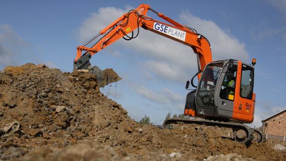 GSE Plant Ltd have ordered three 8 tonne Excavators