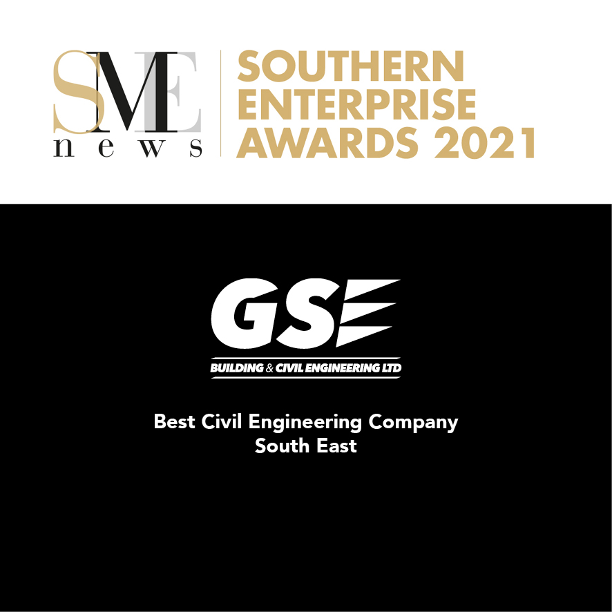 We've won Best Civil Engineering Company - South East!