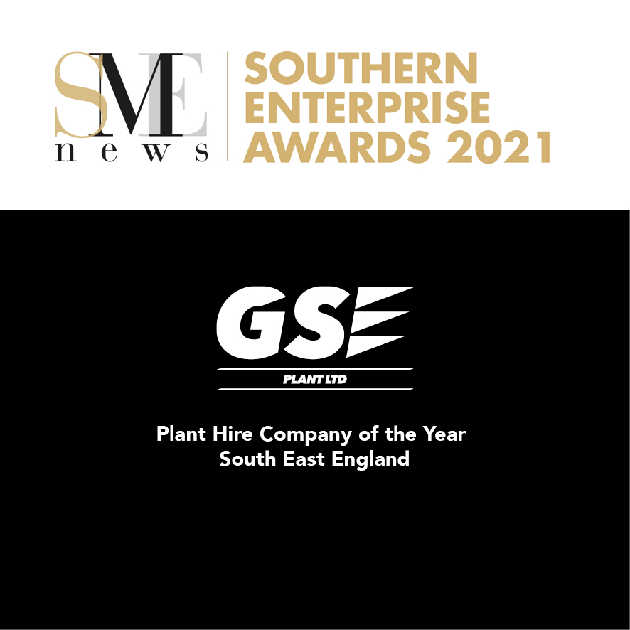 We've won Plant Hire Company of the Year - South East England!