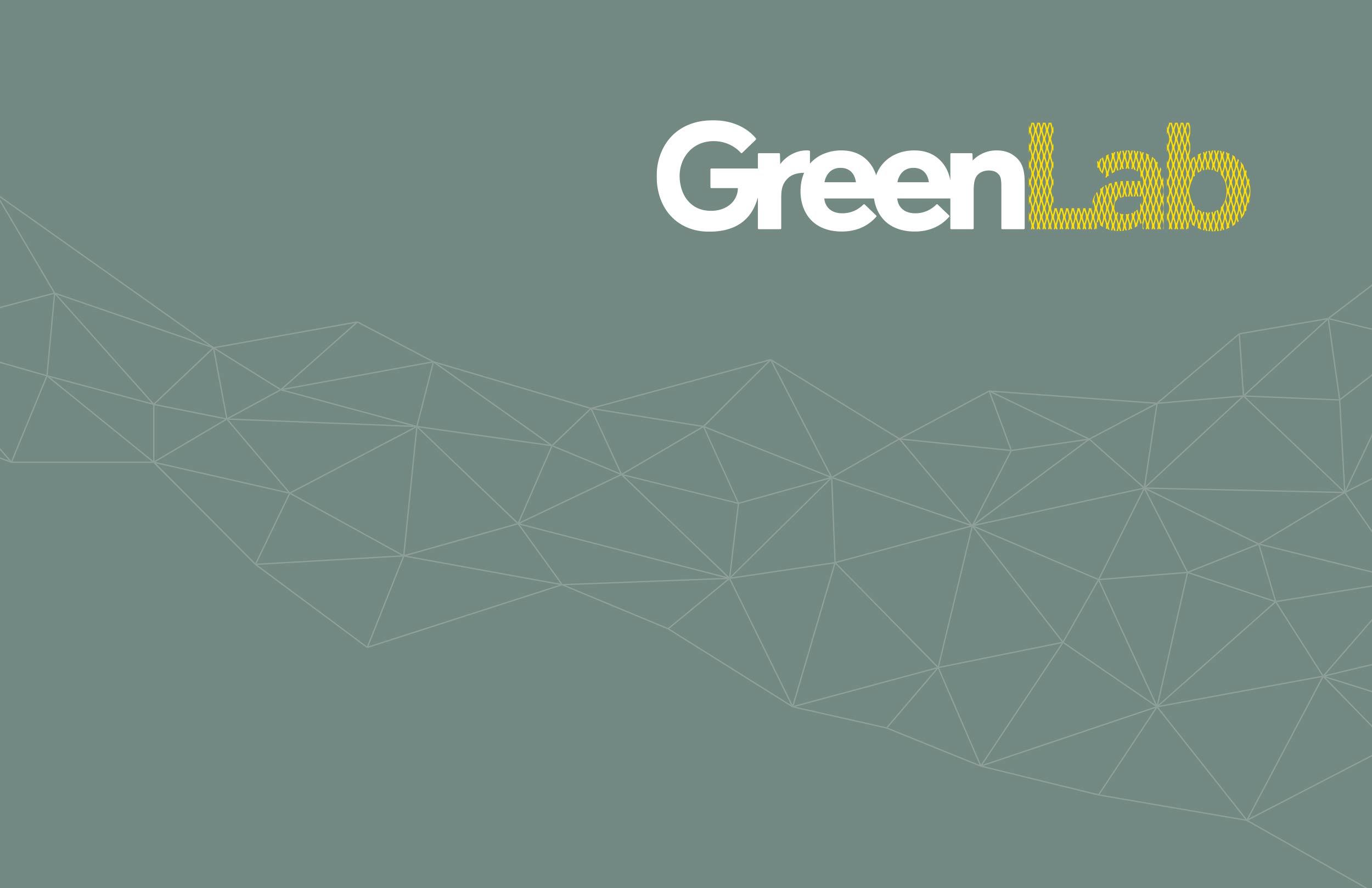 Billede der viser GreenLabs nye logo