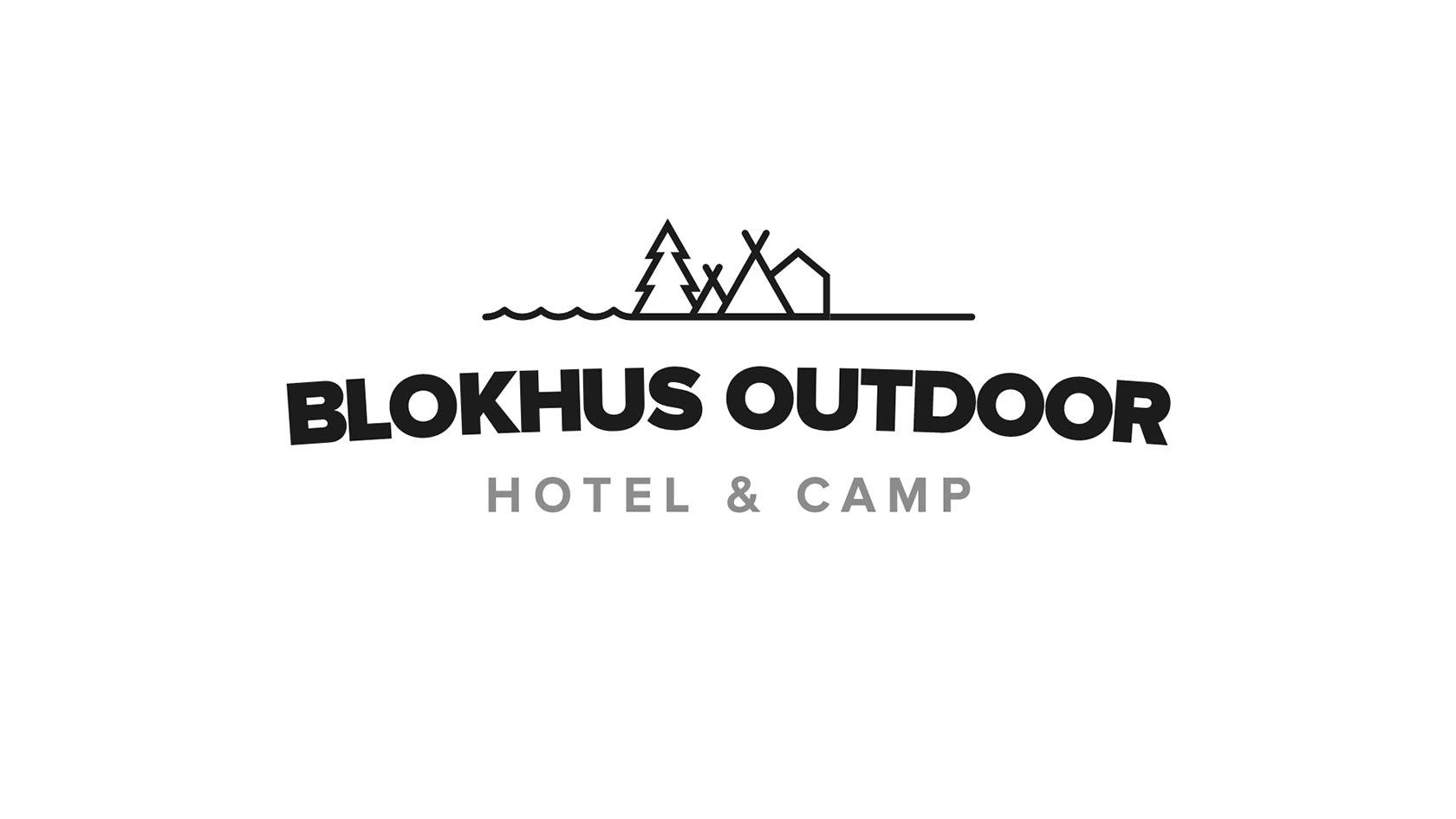 Billede der viser Blokhus Outdoors logo