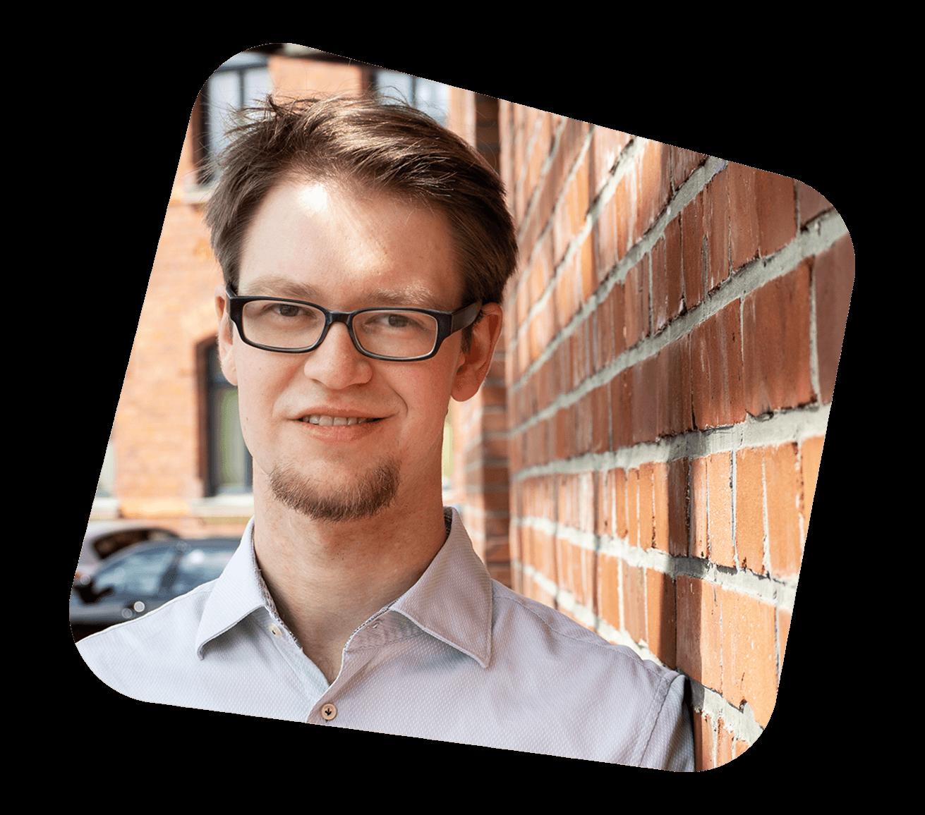 Teammitglied Head of Technology Lennard Bredenkamp