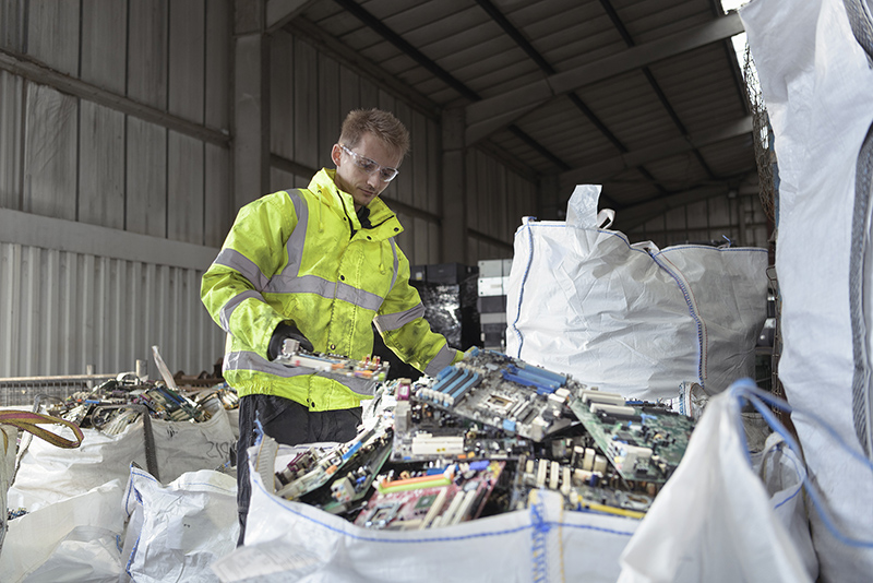 We purchase and recycle all Catalytic Converters and E-Waste.