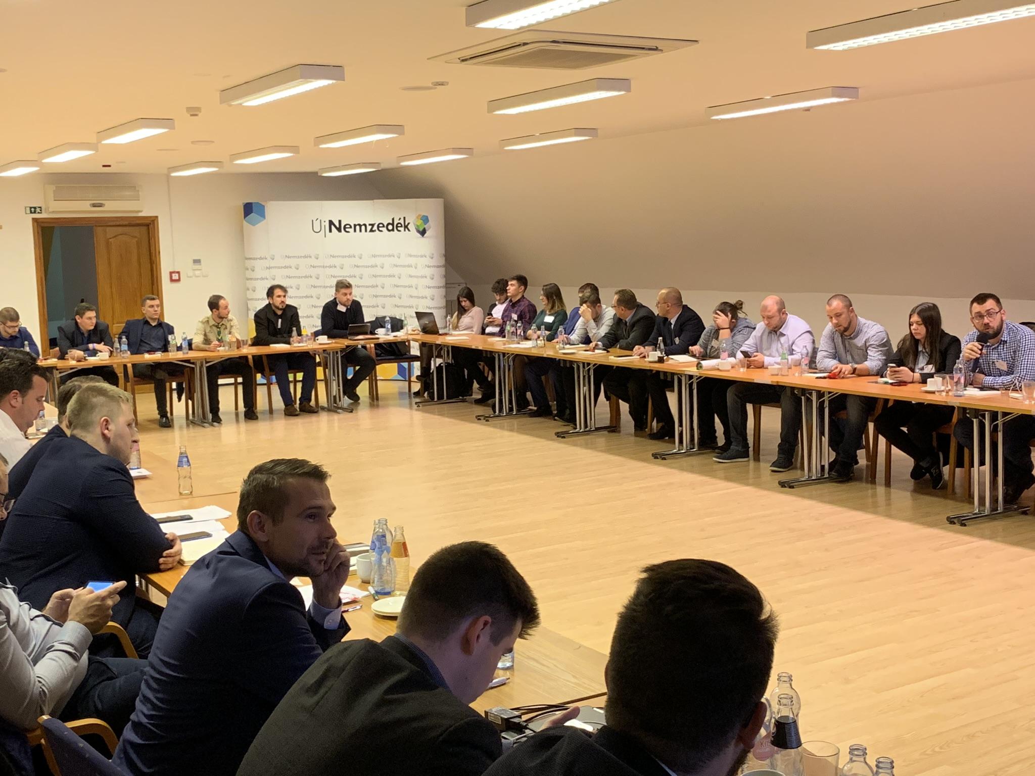 A Magyar Ifjúsági Konferencia 35. rendes ülése Várgezstes, 2018. november 23.