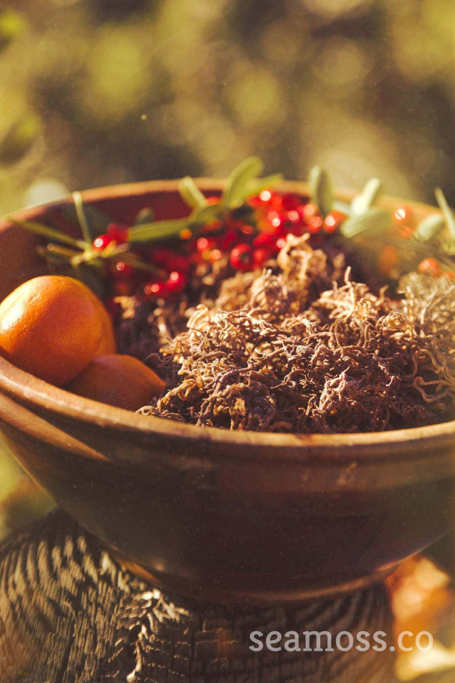 Sea Moss Fruit Basket