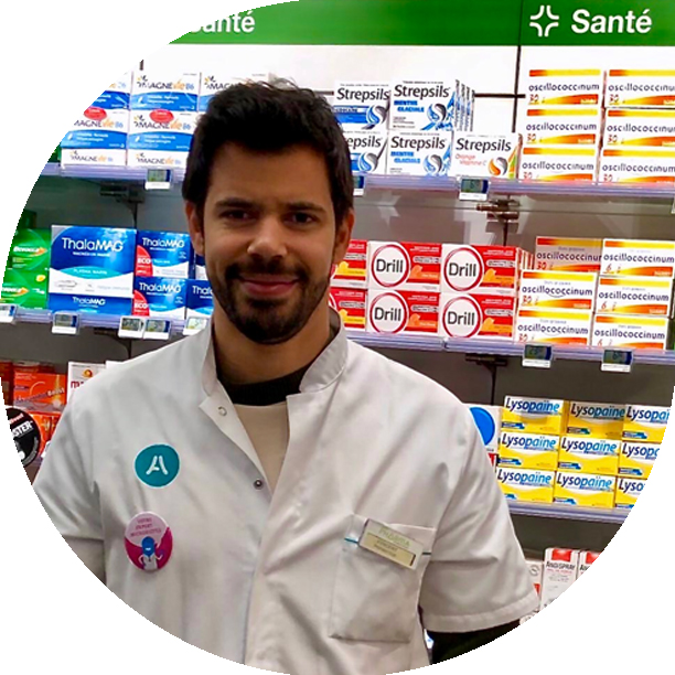 Photo Claude-Alexandre Rose pharmacien