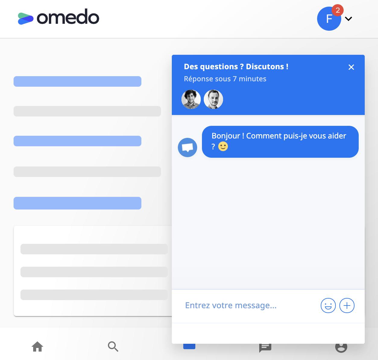 Support Omedo