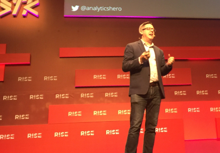 Speaking at Rise Conference 2019