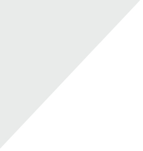 Light grey triangle sound reduction graphic