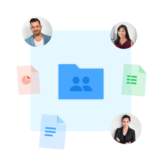 Collaborative tool to exchange with team