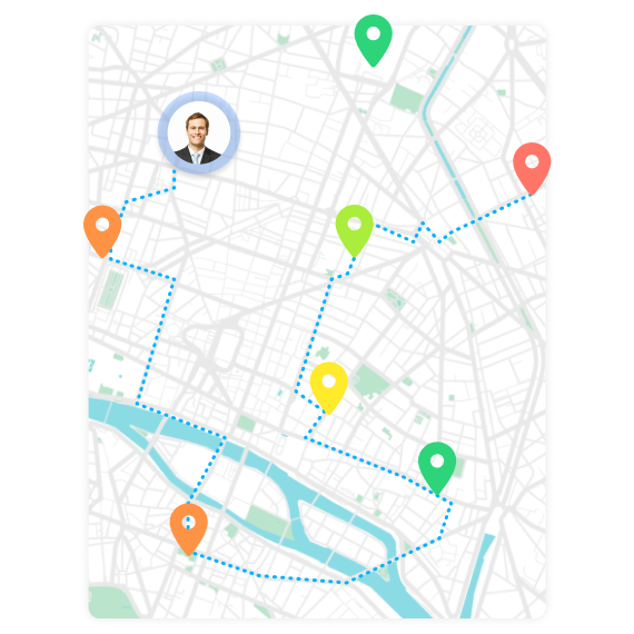 maps itinerary