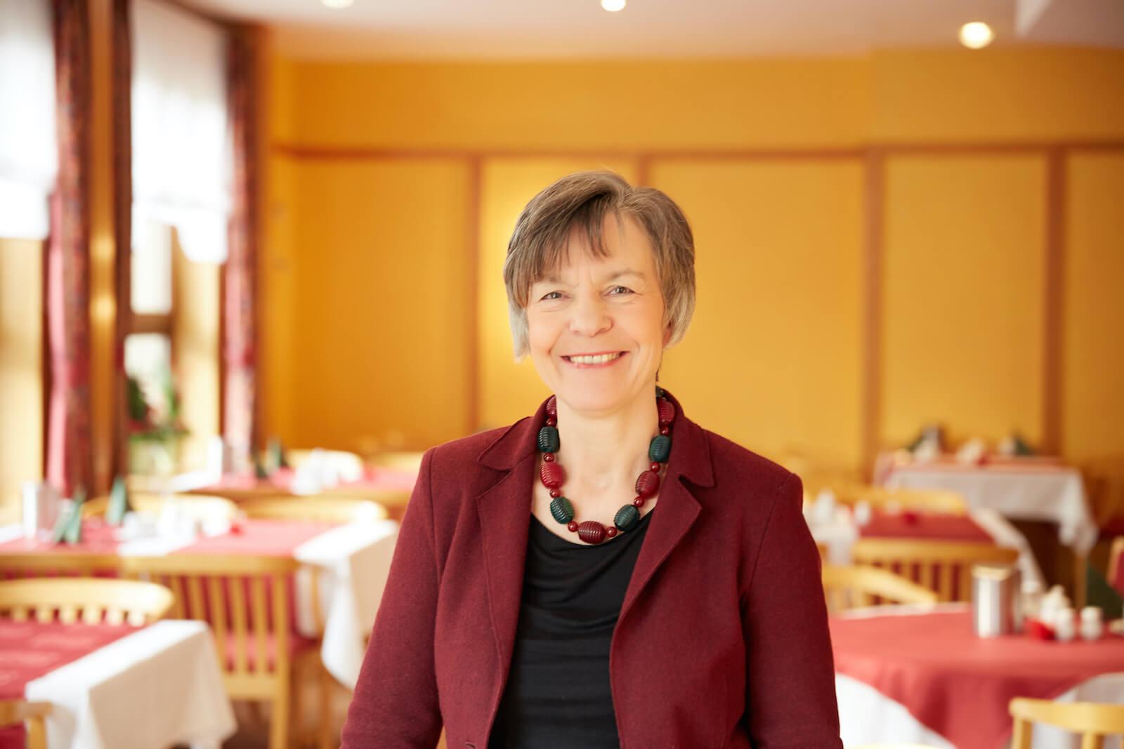 Gabriele Förder-Hoff, die Inhaberin von Hotel Eichwerder