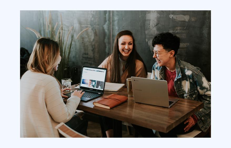 Med G Suite kan du jobbe smartere med kollegaene dine.