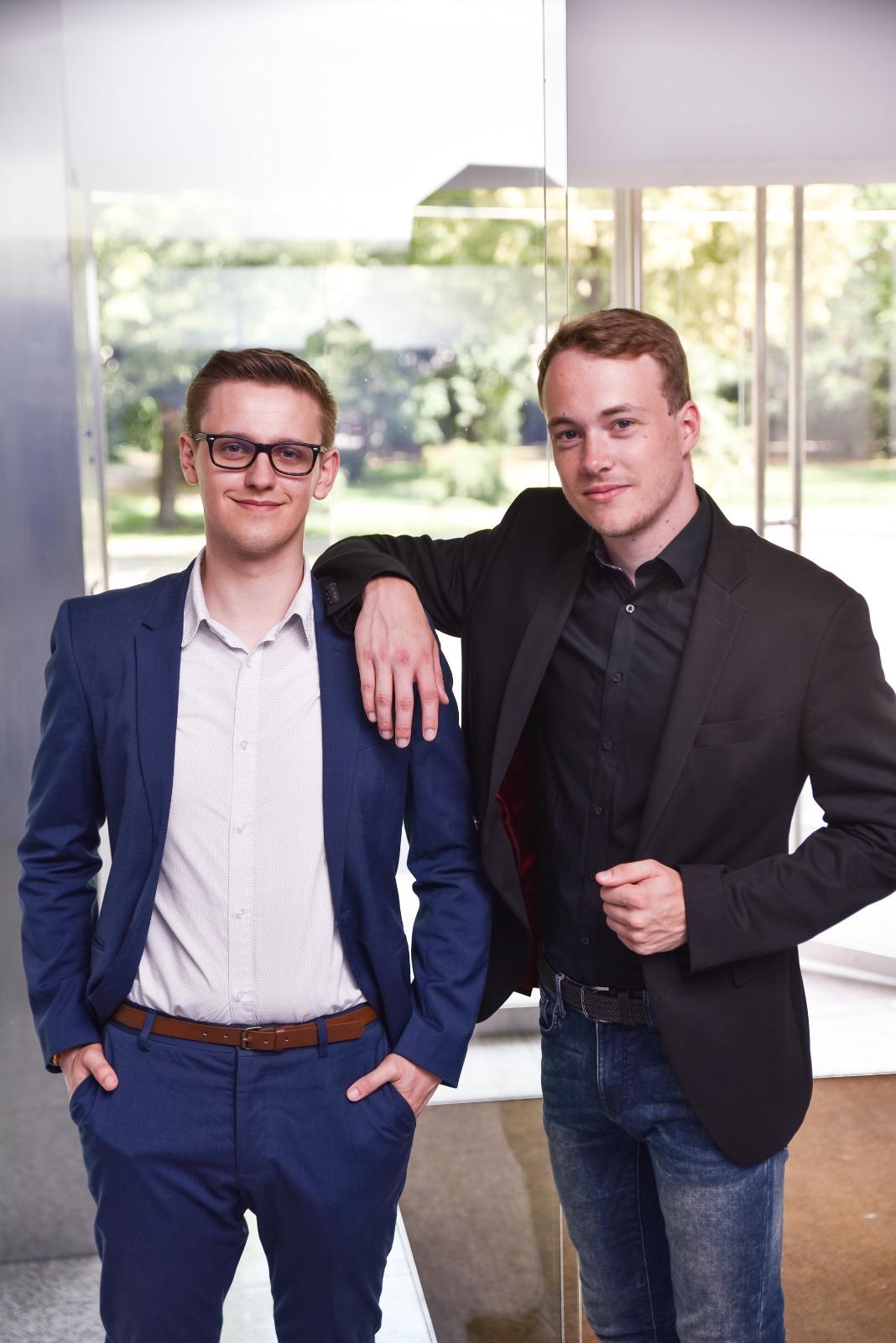 Lukas Prömper und Christopher Raunest
